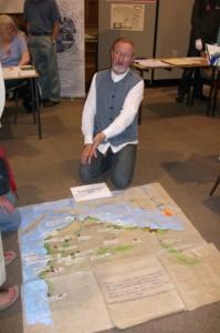 Alan Steel's Floor Map