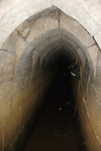 Interior of Paisley Abbey Drain