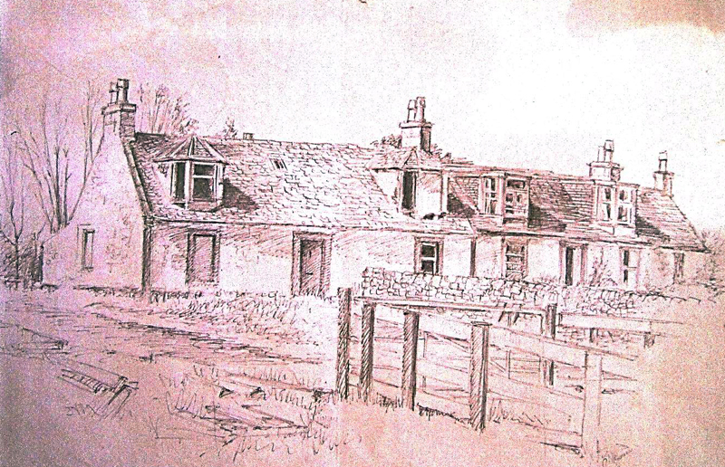 Little Kaimhill Cottages Renfrewshire Local History Forum